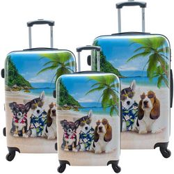 Chariot 3-pc. Kona Hardside Luggage Set