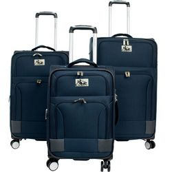 Chariot 3-pc. Naples Spinner Luggage Set