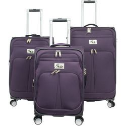 Chariot 3-pc. Prague Spinner Luggage Set