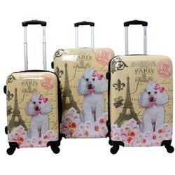 Chariot 3-pc. Paris Hardside Luggage Set