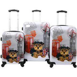 3-pc. UK Puppy Hardside Luggage Set