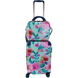 Chariot 2-pc. Park Avenue Floral Luggage & Beauty