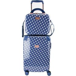 Chariot 2-pc. Park Avenue Dotty Luggage & Beauty