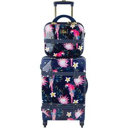 Chariot 2-pc. Parrot 20'' Luggage & Beauty Case