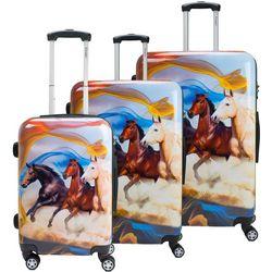 3-pc. Mustang Hardside Luggage Set