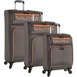 Nautica Montrose Grey 3-pc. Spinner Luggage Set