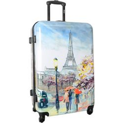 Wembley 28'' Live It Up Paris Hardside Spinner Luggage