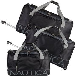 Nautica Barge 3-pc. Wheeled Duffle Set