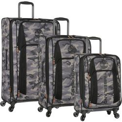 Timberland Sadler Camo 3-pc. Spinner Luggage Set