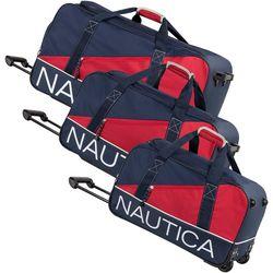 Nautica Newton Creek 3-pc. Wheeled Duffle Set