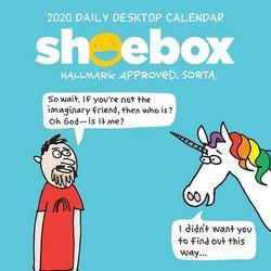 TF Publishing 2020 Shoebox Daily Desktop Calendar