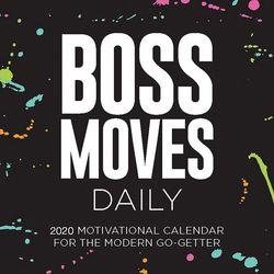 TF Publishing 2020 Boss Moves Daily Desktop Calendar