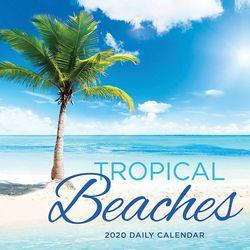 TF Publishing 2020 Tropical Beaches Daily Desktop Calendar