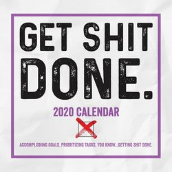 TF Publishing 2020 Get Shit Done Daily Desktop