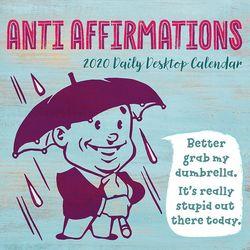 TF Publishing 2020 Anti-Affirmations Daily Desktop Calendar