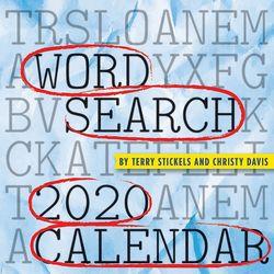 TF Publishing 2020 Word Search Daily Desktop Calendar