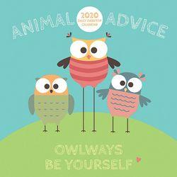 TF Publishing 2020 Animal Advice Daily Desktop Calendar