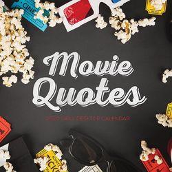 TF Publishing 2020 Movie Quotes Daily Desktop Calendar