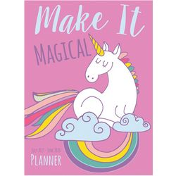 TF Publishing 2019-2020 Unicorn Medium Monthly Planner