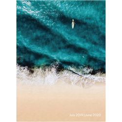 TF Publishing 2019-2020 Surf Waves Medium Monthly Planner