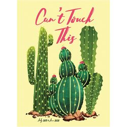 TF Publishing 2019-2020 Can't Touch Cactus Monthly Planner