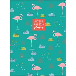 TF Publishing 2019-2020 Flamingos Medium Monthly Planner