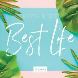 TF Publishing 2019-2020 Best Palms Best Life Monthly Planner