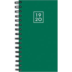 TF Publishing 2019-2020 Green Small Monthly Planner