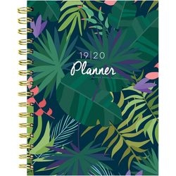 TF Publishing 2019-2020 Botanical Leaves Medium Planner