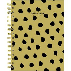 TF Publishing 2019-2020 Mustard Dots Medium Planner