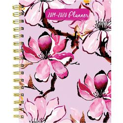 TF Publishing 2019-2020 Pink Petals Medium Planner