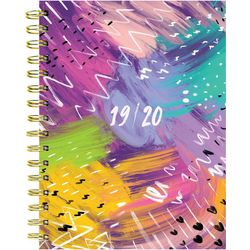 TF Publishing 2019-2020 Brushstrokes Medium Planner