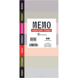 Vibrant Thing Memo Magnet Pad