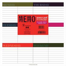 TF Publishing Weekly Wonder Memo Mouse Pad