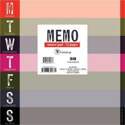 TF Publishing Bold Block Memo Mouse Pad