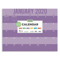 TF Publishing 2020 Color Stripes Desk Pad Calendar