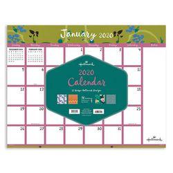 TF Publishing 2020 Pretty Patterns Desk Pad Calendar