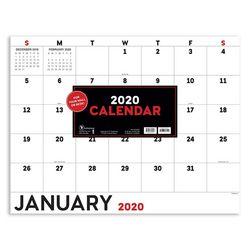 TF Publishing 2020 Basic Utility Desk Pad Calendar