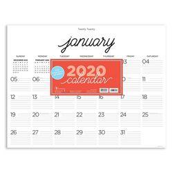TF Publishing 2020 Farmhouse Script Desk Pad Calendar
