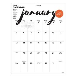 TF Publishing 2020 Handwritten Art Poster Calendar