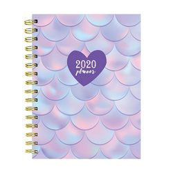 TF Publishing 2020 Mermaid Fun Medium Weekly Monthly Planner