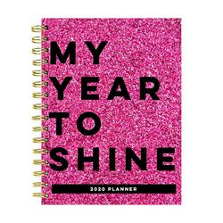 TF Publishing 2020 Shine Medium Weekly Monthly Planner