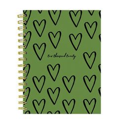 TF Publishing 2020 Heart of Green Weekly Monthly Planner