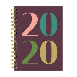 TF Publishing 2020 Year in Color Weekly Monthly Planner