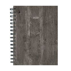 TF Publishing 2020 Woodgrain Medium Weekly Monthly Planner