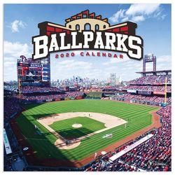 TF Publishing 2020 Ballparks Wall Calendar