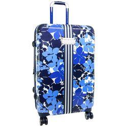 Tommy Hilfiger Blue Floral 25'' Hardside Luggage