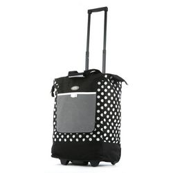 Olympia Polka Dot Rolling Shopping Tote