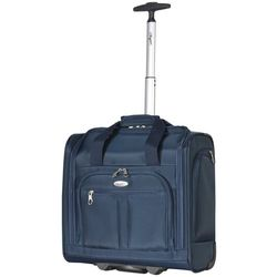 Olympia Luggage Lansing Solid Under Seat Wheeled Carry-On