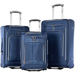 Olympia Luggage Hamburg 3-pc. Luggage Set